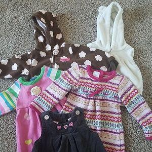 Baby girl 5 piece bundle